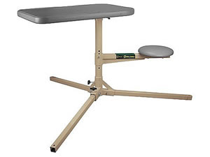 Caldwell 252-552 Stable Table Shot Bench w/Steel Frame & Adj Padded Seat
