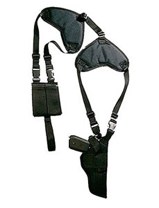 Bulldog Shoulder Holster WSHD3, Black, For Beretta, Colt, Glock, Browning, Taurus, Walther