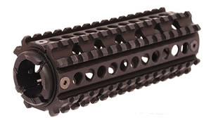 Fab Defense MDQR1 4 Sided/2 Piece Picatinny Handguard Rail System