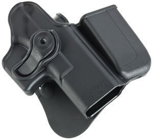 ITAC Defense ITACGK3 Paddle Holster w/Mag Pouch For Glock 9MM/40S&W