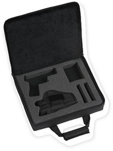 Bulldog  BD567 Nylon Pistol Case w/Holster For Taurus Millenium Pro Autos