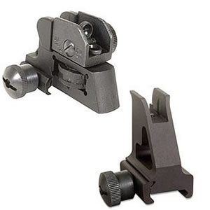 Fab Defense GMFRS1 AR15 Front/Rear Sight Combo