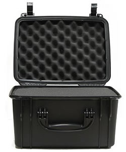 Seahorse SE710F Black Waterproof Handgun Hard Case, 19x15x5