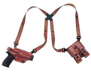 Galco MC290 Miami Classic Shoulder Holster System For Kahr Arms K9/K40