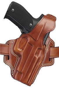 Galco FL212 Tan Fletch High Ride Concealment Holster For 1911 Style Autos w/5 in Barrel