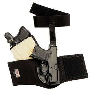 Galco AG160 Ankle Glove Holster For S&W J Frame Hammered/Hammerless