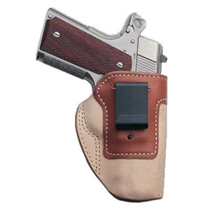 Galco SCT158B Scout Inside The Pant Holster For S&W J Frame Hammered/No Hammer, Black