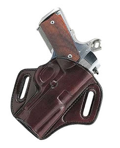Galco CON424H Havana Brown Concealable Holster For 1911 Style Autos w/3 in Barrels