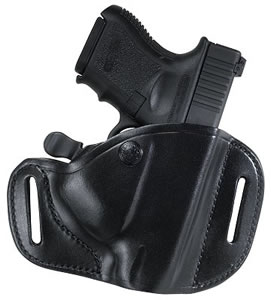 Bianchi Carrylok Belt Holster, Black, Model 22156, For BER 9000S; Glock 26/27; Taurus PT-111