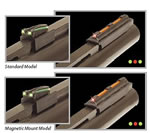 TruGlo TG942XA Magnum Gobble Dot Extreme Shotgun Sight, Magnetic
