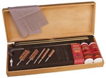Outers 96231  Deluxe Universal Cleaning Kit w/Wooden Box