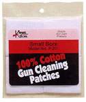 Kleen-Bore P203  38 Cal/410 Gauge Cotton Cleaning Patches 10 Pack