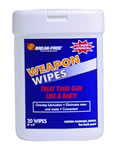 Break-Free BFIWW24  Absorbent Presaturated Weapon Wipes