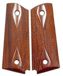 Chip McCormick 82000 Rosewood Checkered Government Grips