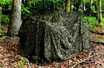 Camo Unlimited Pro Mil  Camouflage Netting MS02, 9 10 inX 19 8 in