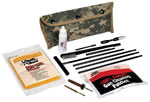 Kleen-Bore POU302DCA  5.56 Digital Tan Camo Universal Field Cleaning Kit