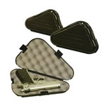 Plano Black Plastic Pistol Case 142300, 12 in