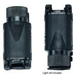 Uncle Mikes 5030-1 Kydex Light Holder w/Belt Clip