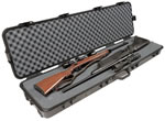 Doskosport/Plano Weatherproof Black Double Scoped Rifle Case w/Wheels 10819