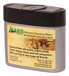 Fab Defense 40 Piece Cleaning/Lubricating Wipes CWK40