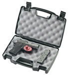 Plano Black Single Pistol Case 140300