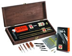 Hoppes BUOX  Deluxe Gun Cleaning Kit w/Wood Presentation Box