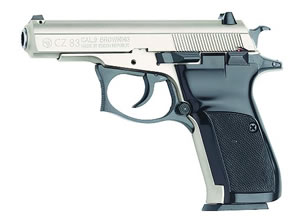 CZ Model 83 Pistol 91301, 380 ACP, 3.8 in BBL, Sngl / Dbl, Blk Syn Grips, Fixed Sights, Blue Finish, 12 + 1 Rds