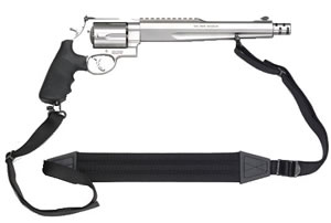 Smith & Wesson Model 500 Revolver 170231, 500 S&W, 10 1/2 in BBL, Sngl / Dbl, Syn Grips, Satin Stainless Finish, 5 Rds