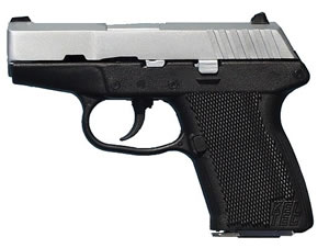 Kel-Tec Model P-11 Pistol P11HC, 9 MM, 3.1 in BBL, Dbl Actn Only, Polymer Grips, 3-Dot Sights, Chrome Finish, 10 + 1 Rds
