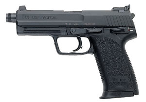 HK USP 45 Tactical Pistol 704531TA5, 45 ACP, 4.46 in BBL, Sngl / Dbl, Modular Syn Grips, 3-Dot Sights, Blue Finish, 8 + 1 Rds