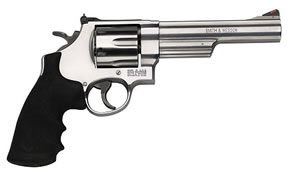 Smith & Wesson Model 629 Revolver 163606, 44 Remington Mag, 6  in BBL, Sngl / Dbl, Syn Grips, Satin Stainless Finish, 6 Rds