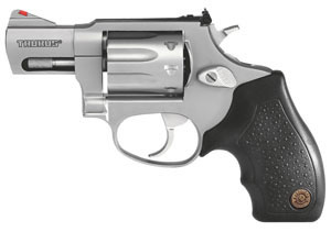 Taurus Model 94 Small Frame Revolver 2940029, 22 Long Rifle, 2 in BBL, Sngl / Dbl, Rubber Grips, Adj Sights, Stainless Finish, 9 Rds