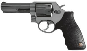 Taurus Model 82 Homeland Security Medium Frame Revolver 2820041, 38 Special, 4 in BBL, Sngl / Dbl, Rubber Grips, Fixed Sights, Blue Finish, 6 Rds