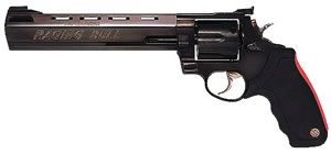 Taurus Model 44 Raging Bull Large Frame Revolver 2444081, 44 Remington Mag, 8 3/8 in BBL, Sngl / Dbl, Rubber Grips, Blue Steel Finish, 6 Rds