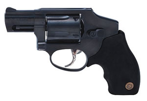 Taurus Model 650 CIA Hammerless Small Frame Revolver 2650121CIA, 357 Remington Mag, 2 in BBL, Dbl Actn Only, Rubber Grips, Fixed Sights, Blue Steel Finish, 5 Rds
