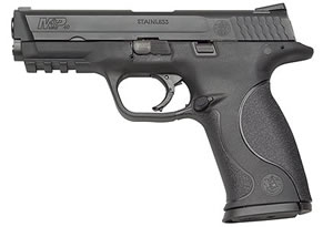 Smith & Wesson Model M&P 9 Pistol 109301, 9 MM, 4 1/4 in BBL, Dbl Actn Only, Syn Grips, Blk Finish, 10 + 1 Rds