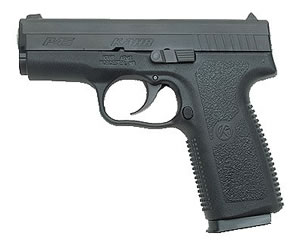 Kahr Model P40 Pistol KP4544, 45 ACP, 3 1/2 in BBL, Dbl Actn Only, Polymer Grips, Blk Polymer/Mt Blkened Stainless Slide, 6 + 1 Rds