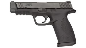 Smith & Wesson Model M&P 45 Pistol 109306, 45 ACP, 4 1/2 in BBL, Dbl Actn Only, Polymer Grips, 3-Dot Sights, Blk Finish, 10 + 1 Rds