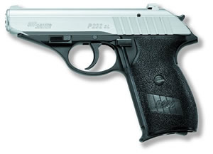 Sig Sauer P232 Pistol 232380TSS, 380 ACP, 3.6 in BBL, Sngl / Dbl, Polymer Grips, Night Sights, Two Tone Finish, 7 + 1 Rds