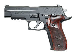 Sig Sauer P226 Pistol E26R40PSE, 40 S&W, 4.4 in BBL, Sngl / Dbl, Aluminum Grips, Night Sights, Blk Aluminum Alloy / SS Finish, 12 + 1 Rds