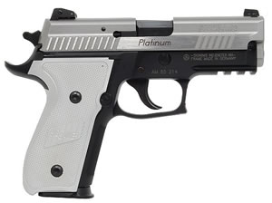Sig Sauer P229 Pistol E29R40PSE, 40 S&W, 3.9 in BBL, Sngl / Dbl, Aluminum Grips, Night Sights, Blk Finish, 12 + 1 Rds