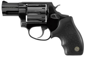 Taurus Model 856 Small Frame Revolver 2856021, 38 Special, 2 in BBL, Sngl / Dbl, Blk Syn Grips, Fixed Sights, Blue Finish, 6 Rds