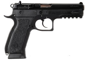 CZ Model SP01 Phantom Pistol 91158, 9 MM, 4.7 in BBL, Sngl / Dbl, Polymer Grips, Fixed Sights, Blk Finish, 18 + 1 Rds