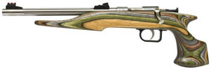 Chipmunk Pistol 40105, 22 Long Rifle, 12 in BBL, Bolt Actn, Camo Wood Grips, Adj Sights, Stainless Finish,  1 Rd