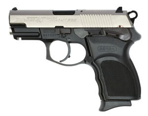 Bersa Thunder 40 Ultra Comp Pistol T40DTP10, 40 S&W, 3.6 in, Chkd Rubber Grip, Duo-Tone Finish, 10 + 1 Rd