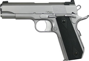Dan Wesson V-Bob Pistol 01982, 45 ACP, 4.25 in, Slim Line G10 Grip, Matte Stainless Finish, 7 + 1