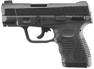 Taurus Model 24/7 G2 Pistol 1247401G2C15, 40 S&W, 3 1/2 in, Black Polymer Grip, Black Finish, 15 + 1 Rd