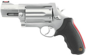 Taurus Raging Judge Revolver 2513039, 410/45 Long Colt/454 Casull, 3 in, Stainless Finish, 6 Rd