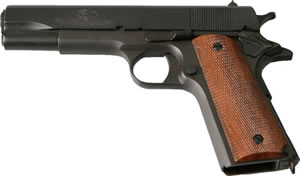 Taylors 1911 Pistol 1911LNYD, 45 ACP, 5 in, Checkered Grip, Black Finish, 7 + 1 Rd