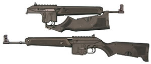Kel-Tec Model SU-16 Sport Utility Rifle SU16B, 223 Remington, Semi-Auto, 16 in, Syn Stock, Black Finish, 10 + 1 Rd